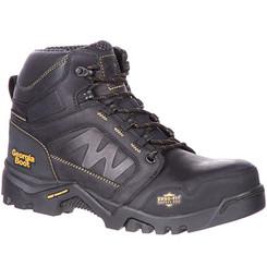Georgia Mens Boot Amplitude Composite Toe Waterproof Work Boot 0130 BLACK