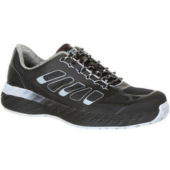 Georgia Mens Boot ReFLX Alloy Toe Work Athletic Shoe 0218 BLACK GREY