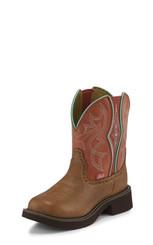 "Justin Ladies Boots L9651 8"" GEMMA TABASCO WITH GORE"