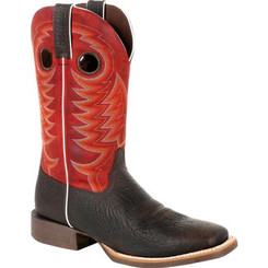 Durango Mens Boots Rebel Pro Crimson Western Boot 0222 DARK CHESTNUT AND CRIMSON