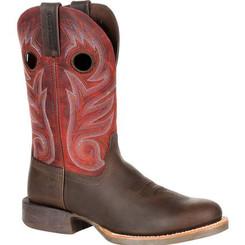 Durango Mens Boots Rebel Pro Dark Chestnut Western Boot 0236 DARK CHESTNUT AND CRIMSON