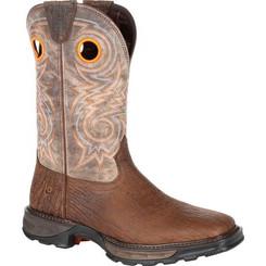 Durango Boots Mens Maverick XP Western Work Boot 0242 BAY BROWN AND STEEL CUT OAT