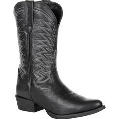 Durango Mens Boots Rebel Frontier Black Western R-Toe Boot 0241 BLACK ONYX