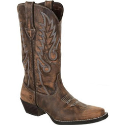 Durango Dream Catcher Women's Distressed Brown Western Boot 0327 DISTRESSED BROWN AND TAN