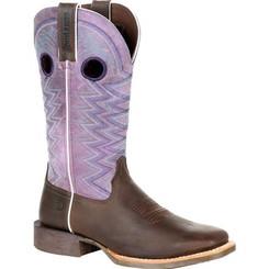 Durango Lady Rebel Pro Women's Amethyst Western Boot 0354 DARK EARTH AND AMETHYST