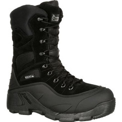 Rocky Mens Boots BlizzardStalker Pro Waterproof 1200G Insulated Boot 5455 BLACK