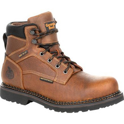 Georgia Giant Revamp Waterproof Work Boot 0316 BROWN