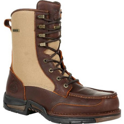Georgia Boots Mens Athens Waterproof Side-Zip Upland Boot 0354 BROWN