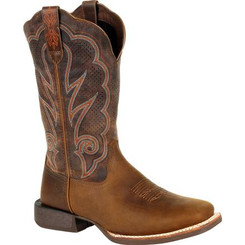 Durango Lady Rebel Pro Women's Cognac Ventilated Western Boot 0376 DISTRESSED COGNAC