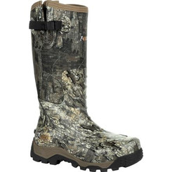 Rocky Mens Boots Sport Pro Pull-On Rubber Snake Boot 0450 REALTREE TIMBER