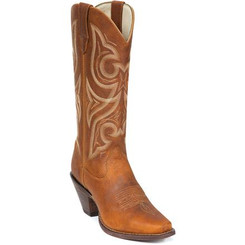 Crush by Durango Women's Tan Jealousy Western Boot 3514 DISTRESSED COGNAC