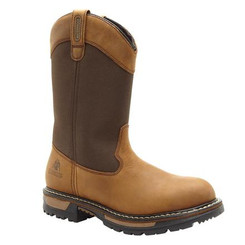 Rocky Ride Insulated Waterproof Wellington Boots 2867 BROWN