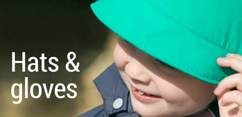 Hats & gloves from Scandinavia the home of outdoor play