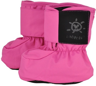 Soft padded fleece lined Baby Booties from Lindberg, Sweden