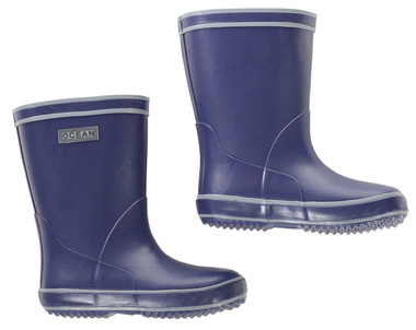 Ocean Wellies in Navy