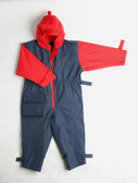 Navy/red child suit  (2yrs to 6yrs)