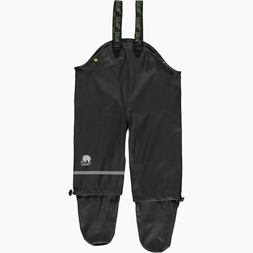 3b6d25bcf Waterproof Baby Dungarees with Feet - Raindrops