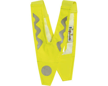 Hi Viz V - worn on top of outer clothing over the shoulders