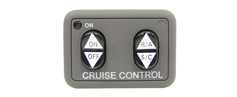 Universal Rostra cruise control kit w/ Dash Switch