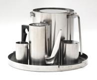 Arne Jacobsen Cylinda Line Stainless Set 1960s