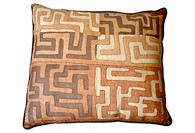 Kuba Raffia Cloth Pillow SOLD