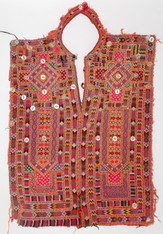 Antique Embroidered Dress Panel from Pakistan
