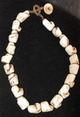 Antique Naga Conch Shell Bead Necklace SOLD