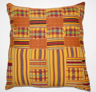 Vintage Kente Textile Pillow SOLD