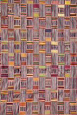 "1930s Ewe Kente Cloth 8'2"" x 5'2"""