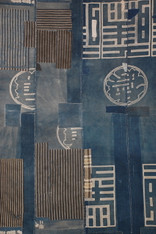Antique Indigo Patched Boro Cloth SOLD