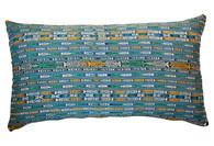 Guatemalan Large Ikat Textile Pillow