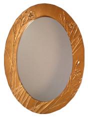 Botanical Mirrors by Deborah Childress Cape Iris