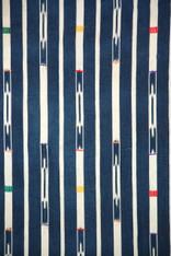 Ivory Coast Indigo Ikat Textile