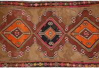 "Antique Turkish Kilim, 11'2"" x 5'7"""