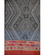 Indigo Dyed Tribal Laotian Textile