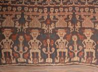 Indonesia Sumba Hinggi Ikat Ceremonial Cloth SOLD