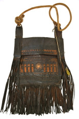 Moroccan Tuareg Vintage Leather Bag SOLD