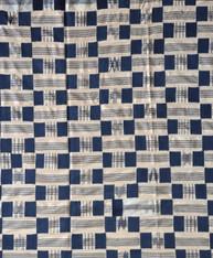 Ewe Indigo Kente Cloth