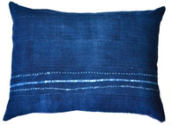 Tribal Indigo Tie-Dye Pillow SOLD