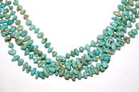 Navajo Santo Domingo Turq/Silver Necklace SOLD
