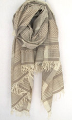 Yaser Shawl Woven Cotton/Silk Shawl SOLD
