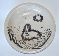 Japanese Shino-e Plate