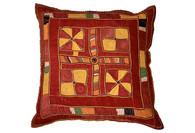 Banjara Textile Pillow, India SOLD