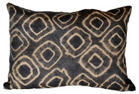African Kuba Raffia Tie-Dye Pillow SOLD