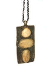 Lou Zeldis Sterling Stone Necklace SOLD