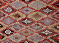 "Anatolia Turkish Antalya Kilim 8'9"" x 5'4"" SOLD"