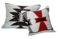 Early Navajo Woven Pillow Pair SOLD
