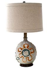 1960's Studio Art Pottery Lamp SOLD