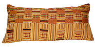 African Kente Large Lumbar Pillow