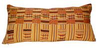 African Kente Large Lumbar Pillow